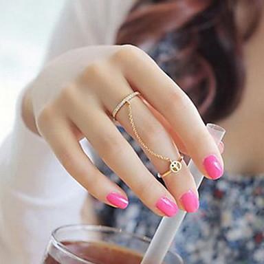 Bague deux anneaux