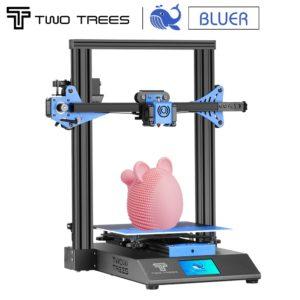 Twotrees – masques d'impression 3D BLUER V1 V2, plaque de construction magnétique, reprise d'impression en cas de panne de courant, KIT Mean Well Power Supply 1
