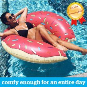 Anneau de natation gonflable d'été en PVC épaissi, bouée de piscine, matelas, siège d'été, jouet 1