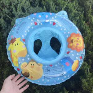 Anneau de natation gonflable à Double poignée pour bébé, anneau de piscine gonflable pour enfants 1