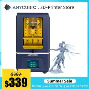 2020 nouveau anycubique 3d imprimante Photon Mono SE APP télécommande LCD UV 3D impression haute vitesse résine 3D imprimante Impresora 3d impression 1
