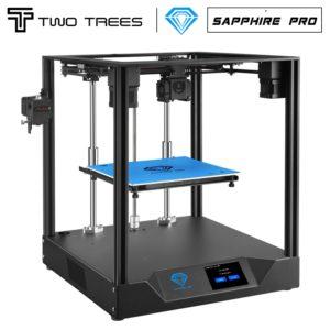 Twotrees – imprimante 3D Sapphire Pro, panneau silencieux pré-installé, plaque magnétique intégrée, reprise d'impression, CoreXY pour Sapphire Pro 1