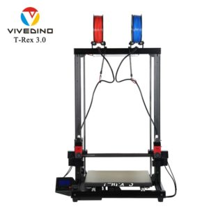 VIVEDINO t-rex 3 + – imprimante 3D, IDEX, qualité industrielle, FDM, grande taille 1
