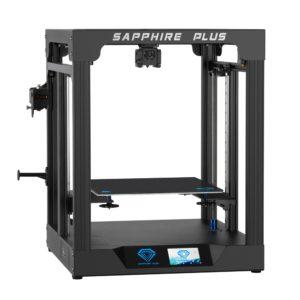 Twotrees – imprimante 3D Sapphire Plus V1.1, grand Volume construit, kit PEI, écran tactile couleur 3.5, FDM, double axe Z pour Sapphire Plus 1