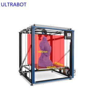 X5SA-500 PRO Grande Taille Plate-Forme En Verre TFT Écran Tactile Plein Cadre En Métal Haute Précision Cv Panne De Courant 3D Imprimante Kit De Bricolage 1