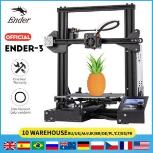 2019 Ender-3/Ender-3X imprimante 3D kit de bricolage imprimante de grande taille 3D Continuation puissance d'impression. Plaque magnétique crealité 3D Ender 3 1