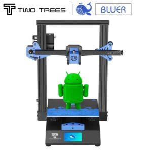 Twotrees – imprimante 3D BLUER V2, mise à niveau optionnelle, reprise d'impression en cas de panne de courant, KIT Hotbed PEI + Base magnétique TMC2208 1