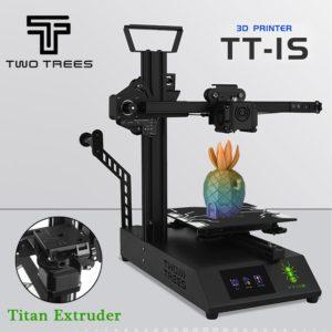 Twotrees – Mini-imprimante 3D Titan extrudeuse 220V/110V universelle avec 0.2kg, tendeur de ceinture à Filament, assemblage rapide 1