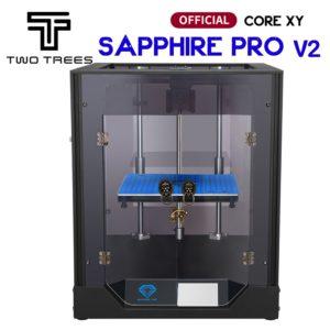 Twotrees – imprimante 3D Sapphire Pro, kit bricolage autonome, avec extrudeuse BMG MKS Robin Nano et reprise d'impression en cas de panne de courant 1