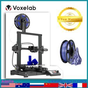 Voxelab Aquila – imprimante 3d entièrement métallique, impression de haute précision, reprise d'impression, plateforme thermique à retrait automatique, dimensions 220x220x250mm 1