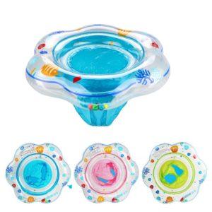 Anneau de bain pour bébé, bouée flottante, gonflable, adapté aux bébés de 1 à 3 ans 1