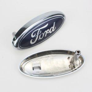 1 pièces Automobile Marque Avant Calandre Accessoires Voiture Auto Gadgets pour Ford Focus 2 3 4 5 Mk2 Mk3 Mk4 Mk5 Mk7 Ranger Fiesta 1