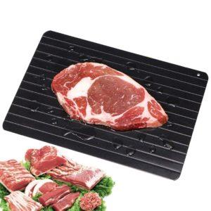 Plateau de décongélation rapide, plaque de décongélation rapide, aliments, viande, fruits, décongélation rapide, Gadgets de cuisine 1