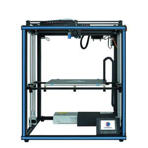 X5SA X5SA PRO – imprimante 3D, 330, 330, 400mm, haute précision, grande taille, Structure de Cube XY avec carte mère muette, double axe Z 1