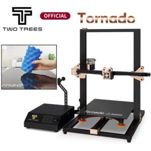Twotrees – imprimante 3D, impression de tornade, niveau laser tactile BMG, extrudeuse en verre, lit chaud, prusa i3, alimentation électrique 1