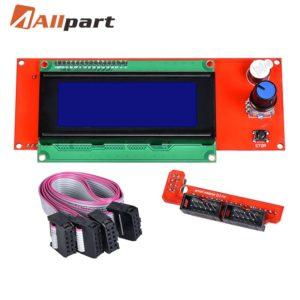 1 pièces 2004 écran LCD imprimante 3D Reprap adaptateur intelligent contrôleur Reprap rampes 1.4 1.6 Mega2560 carte 2004LCD contrôle 1