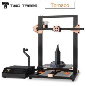 Twotrees – imprimante 3D, impression de tornade, niveau laser tactile, Double engrenage BMG extrudeuse de nivellement, verre à ressort chaud prusa i3 1