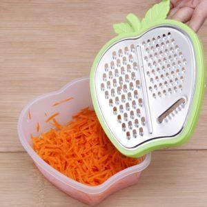 Trancheuse de légumes domestique manuelle polyvalente, coupe-fruits et pommes de terre, râpe pour outils de cuisine, Gadget de cuisine 1