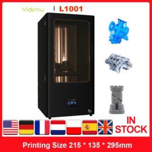 YIDIMU L1001 – imprimante 3D, résine LCD, haute précision, 10.1 pouces, Monochrome, 2K, hors ligne 1
