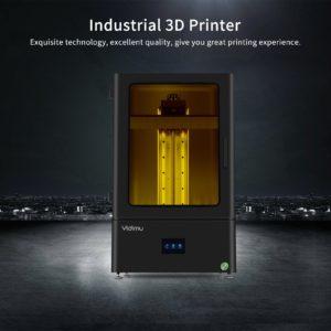 YIDIMU L1303 3D Imprimante UV Photocuring LCD Résine 3D Imprimante avec 13.3 Pouces 4K LCD Monochrome L'impression Hors Ligne 11.6x6.5x13.6in 1