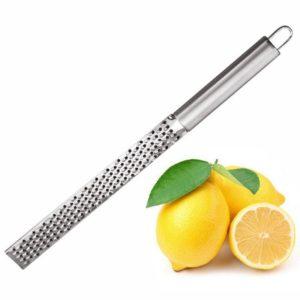 Râpe à citron, fromage et légumes en acier inoxydable, éplucheur, trancheur, outils de cuisine, Gadgets, hachoir à fruits et légumes 1