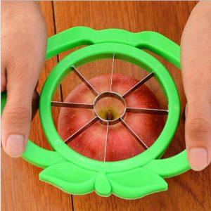 Trancheur de fruits en acier inoxydable multifonction avec poignée, outil de coupe de cuisine, gadgets de cuisine 1