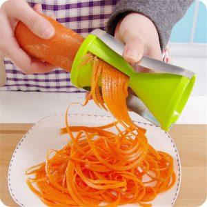 Râpe à spirale de légumes, pour râper, Cutter, déchiqueteur, pour carottes, concombres, courgettes, ustensile de cuisine 1