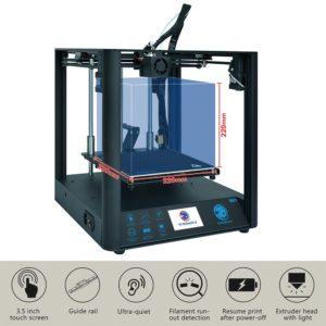 ULTRABOT D01 Ultra-silencieux Haute Précision Cv Panne De Courant 3D Imprimante Bricolage Kits avec Extrudeur Titan & Couleur Écran Tactile 1