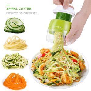 Trancheur à spirale pour fruits et légumes, ustensile de cuisine pour pâtes Spaghetti 1