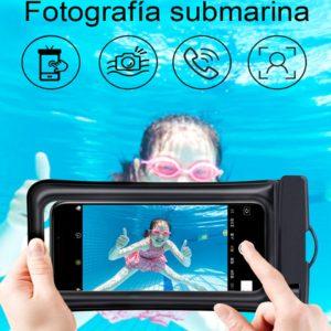 Sac étanche pour téléphone Portable iphone 12pro MAX, sacoche de natation, Gadget de plage sec, étui universel pour Samsung Huawei Xiaomi 1