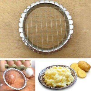 Trancheuse de pommes de terre, outil de haute qualité, pour découper les œufs, les fruits et les légumes, Gadgets de cuisine 1