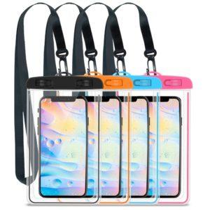 Pochette étanche pour téléphone portable 3.5-6.5 pouces, Gadget de natation, sac sec de plage, Camping, support de ski lumineux pour téléphone portable 1