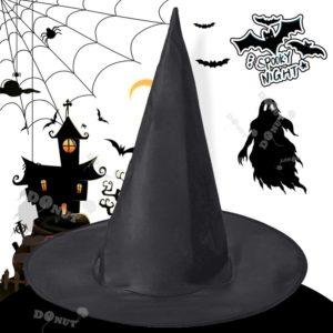 Chapeau de sorcière pour Halloween, accessoire de fête, large et fiable, 5 pièces 1