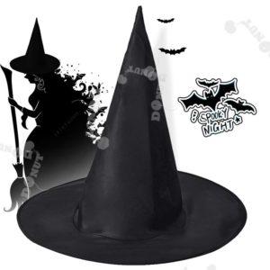 Chapeau de sorcière pour Halloween, accessoire de fête, 10 pièces, large et fiable, pour adultes et femmes 1