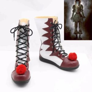 Chaussures de Clown d'halloween pour hommes et femmes, bottes de Costumes de Cosplay 1