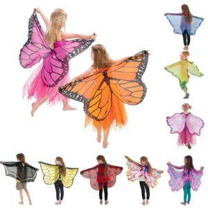 Costume ailes papillon coccinelle, aile Cosplay avec masque, Costume d'halloween pour enfants filles garçons, faveur de fête 1