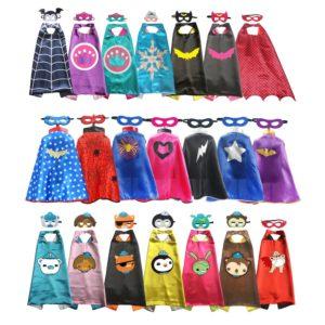 Capes de super-héros pour garçons et filles, déguisement d'halloween pour fête d'anniversaire, Cosplay Anime 1