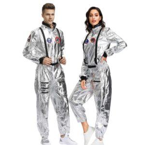 Combinaison d'astronaute pour adultes, Costume de Couple pour fête Cosplay d'halloween, nouvel arrivage 2019 1