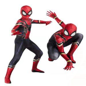 Cosplay spiderman pour hommes, 15 styles, Costume d'halloween incroyable Peter Parker Zentai, body de super-héros pour enfants et adultes 1