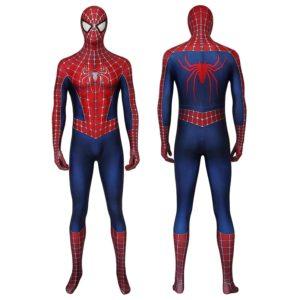 Combinaison de super-héros Spider 2 pour adultes, Costume de Cosplay, Costume de mascarade d'halloween, combinaison de fête 1