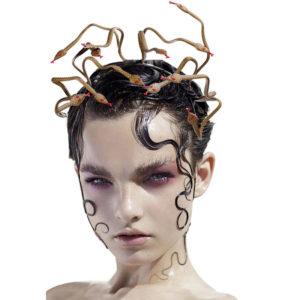 Bandeau de cheveux Sexy serpent Medusa, décor d'halloween, accessoires de décoration de fête Cospaly Mardi Gras, accessoires de Costume pour femmes 1