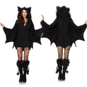 Costume chauve-souris de Vampire pour femmes, combinaison de Cosplay pour adultes, déguisement d'halloween, mascarade, Costume de fête, animaux 1