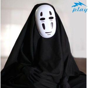Costume Cosplay Anime Miyazaki Hayao pour homme, ensemble complet, Robe, masque et gants, Costume de carnaval d'halloween 1
