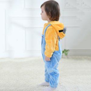 Barboteuse pour bébé garçon et fille, vêtements pour bébé, Cosplay, Halloween, nouveau-né, barboteuse, Costume d'hiver doux 1