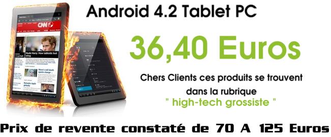 tablette petit prix